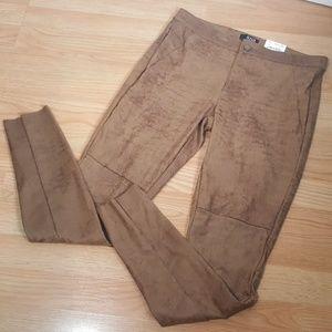 A.N.A. suede feel skinny pants